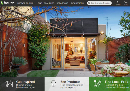 Houzz Screen Capture