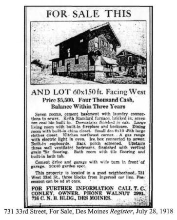 Middlesex Plat Advertisement