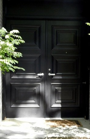 Front door detail.
