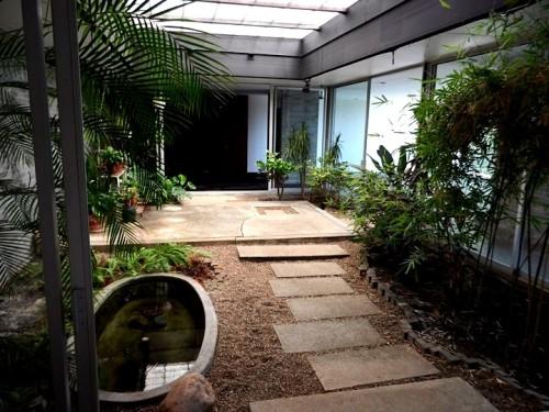 Central atrium.