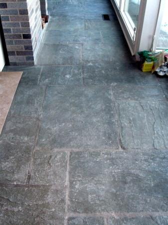 Floor detail.