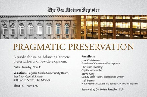 Preservation Forum Invitation