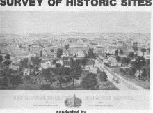 Des Moines Center of Iowa Survey of Historic Sites