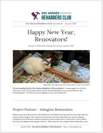 DSMRC Newsletter - January 2016